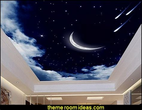 Galaxy Wallpaper For Ceiling by Decorating Theme Bedrooms Maries Manor Celestial Moon