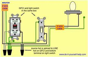 Gfci Receptacle And Switch Same Box