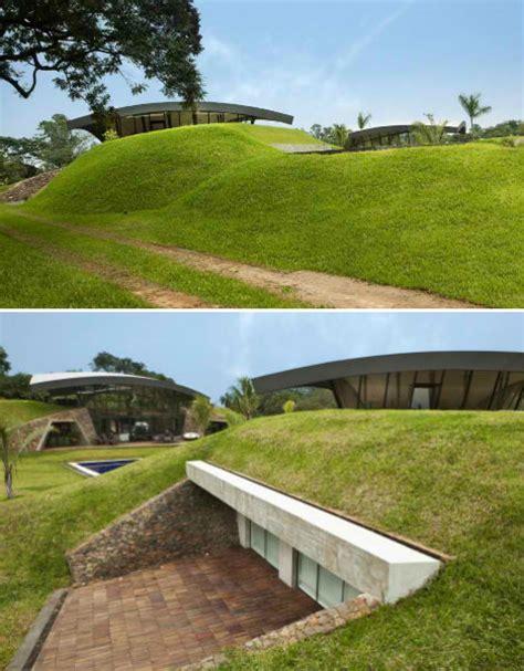 homes built into hillside modern earth shelter homes built into the hillside