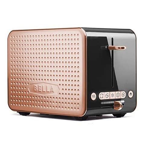 black  copper  slice toaster  bella kitchn