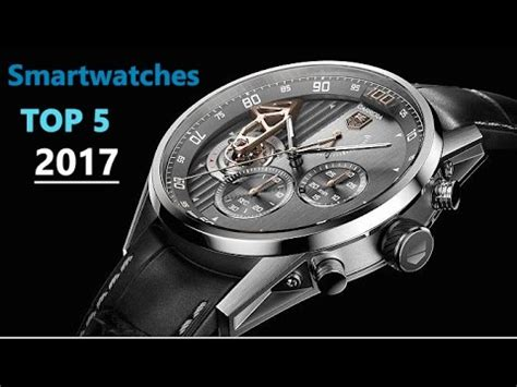 top 5 best smartwatches 2017
