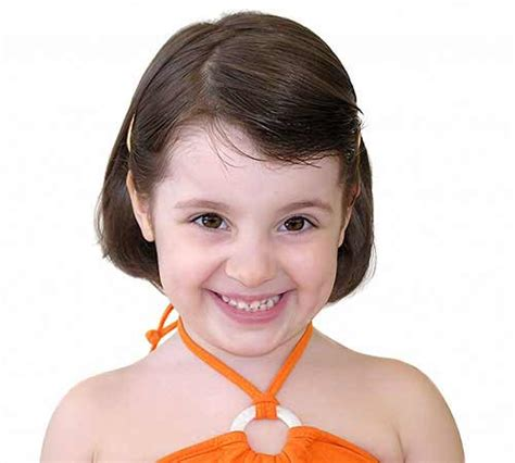 kids hair style picture short  straight