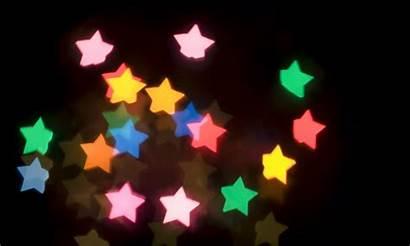 Star Lights Christmas Bokeh Bright Abstract Wallpapers
