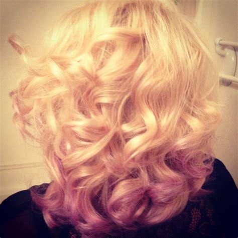 Ombre Purple Hair Lavender Hair Violet Hair Dip Dye