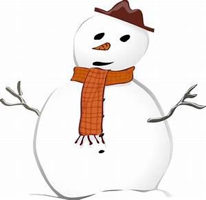 Snowman Scarf Clipart (30+)