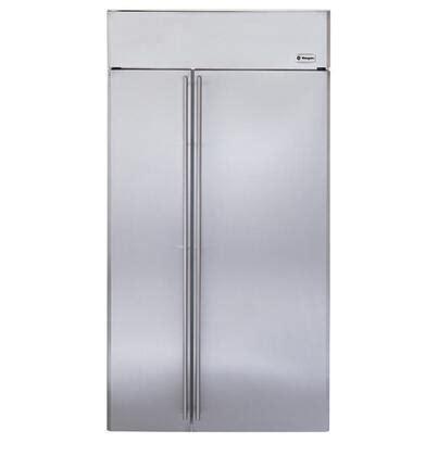 monogram zissnhss    cu ft built  side  side refrigerator  water