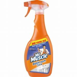 Mr muscle bathroom cleaner stax trade centres for Mr muscle bathroom and toilet cleaner
