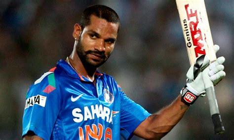 shikhar dhawan indian cricket player dryticketscomau