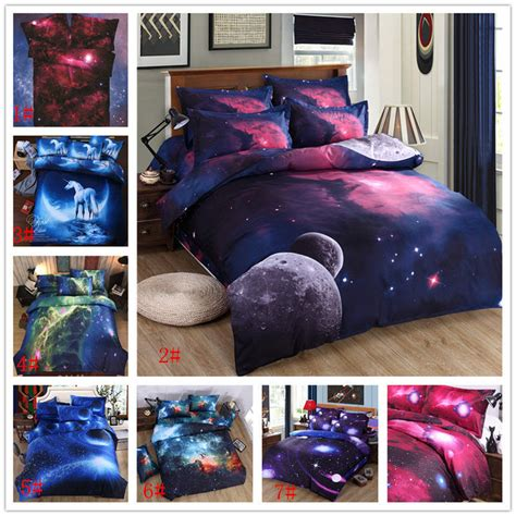 3d abstact sky universe outer space starry bedding