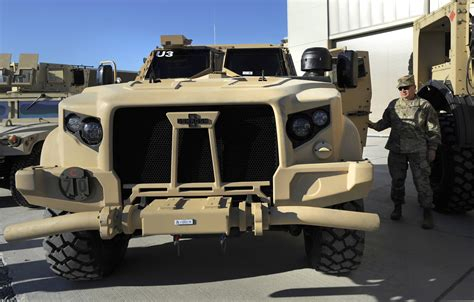 Army Begins Testing New Combat Truck At Aberdeen Proving