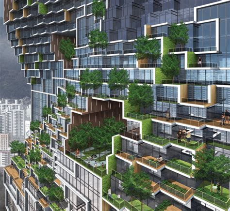 the gardens apartments unsangdong architects apartment south korea
