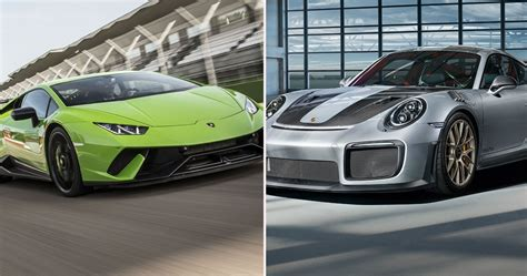 The 10 Best Supercars Available In 2019 | HotCars