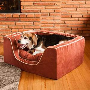 Replacement cover snoozer luxury square dog bed w for Best luxury dog beds