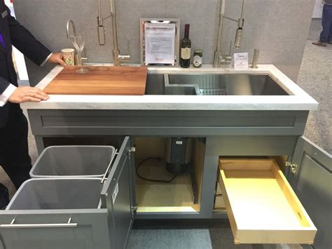 how wide is a kitchen sink kitchen and bath trends at kbis 2017 sinks and faucets 8950