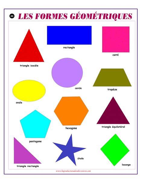 formes geometriques en anglais a l 233 chelle du monde produits affiche math 233 matique les formes g 233 om 233 triques les