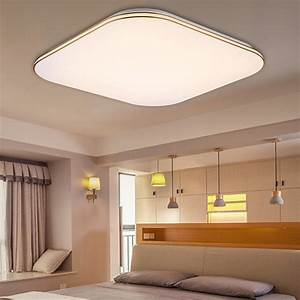 W lumens square led ceiling light dimmable with