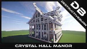 Crystal Hall Manor Minecraft Schematic Download