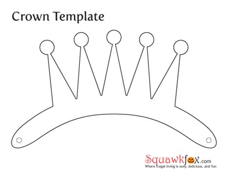 crown template make a last minute costume with an pillowcase squawkfox