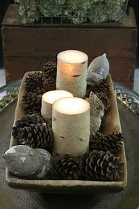 how to create a fall dough bowl centerpiece With rustic coffee table centerpieces