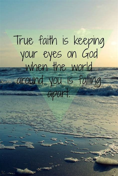 Keep Faith In The Lord Quotes