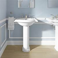 "bathroom pedestal sink Kohler Devonshire 24"" Pedestal Bathroom Sink & Reviews 