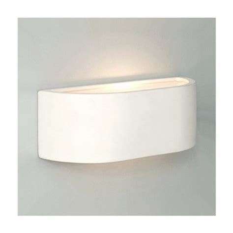 buy curved ceramic indoor mini wall light white from our