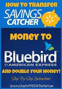 How To Transfer Walmart Savings Catcher Money To Bluebird