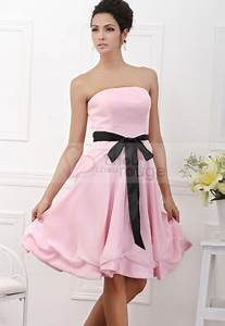 robe de mariage pas cher bustier rose With robe rose pas cher