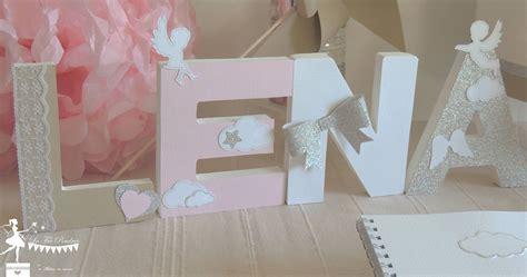 beautiful lettre prenom decoree kdo naissance cadeau