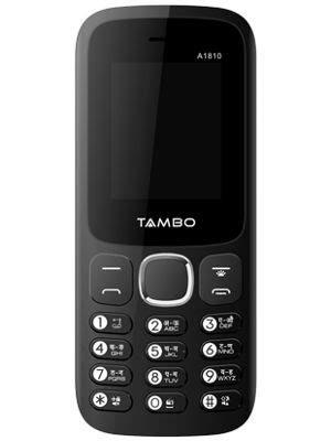 Tambo A1810 Price in India, Full Specs (6th March 2020