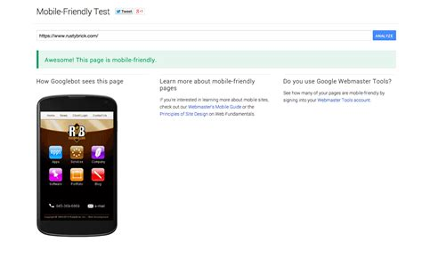 goggle mobile launches mobile friendly test tool