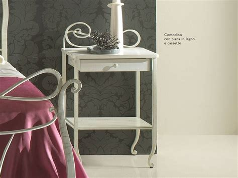 wrought iron bedside table faure