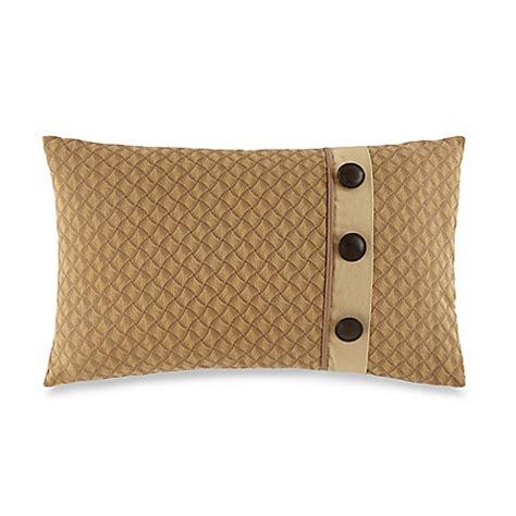 button throw pillow buy waterford 174 linens harrison button oblong throw pillow