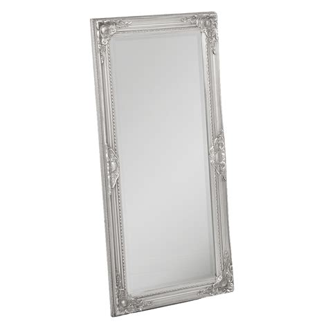 spiegel barock silber spiegel leandos barock silber antik 100x50cm 4068