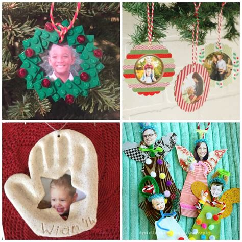 christmas photo ornament crafts fantastic fun learning