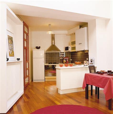cuisine en longueur ouverte cuisine en longueur ouverte 6 cuisine ouverte avec bar