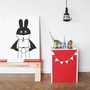 Chambre Enfant Blanc : affiches en noir et blanc pour une chambre d 39 enfant ~ Teatrodelosmanantiales.com Idées de Décoration