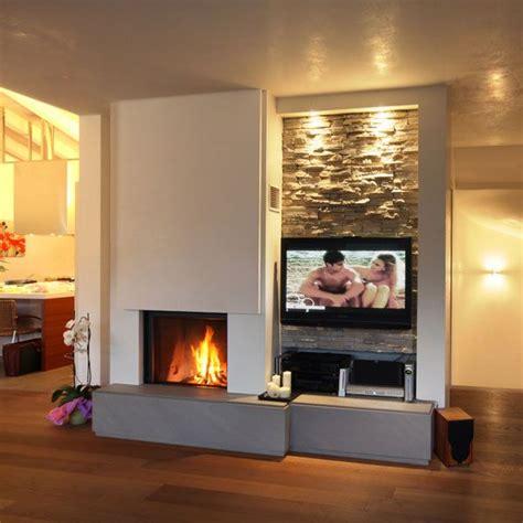 Camini Design Moderni Caminetti Moderni Foyer Fireplace Tv Camino