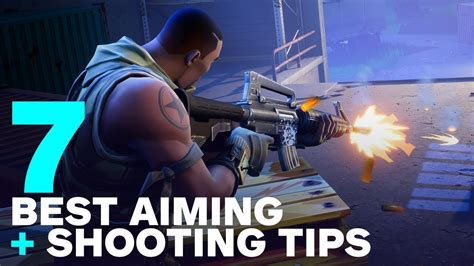 fortnite aiming  shooting tips  battle royale