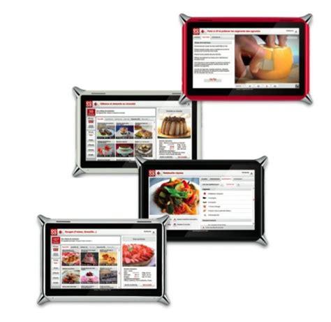 tablette de cuisine qooq idée cadeaux la tablette tactile qooq au service de