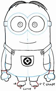 How to Draw Minions from Despicable Me | How to Draw Dat