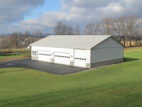 Building a Pole Barn Garage 30 X 40