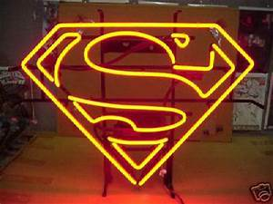 Superman NEON Sign ficially Licensed PlanetKrypton