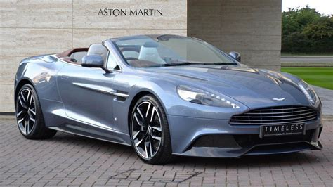Aston Martin Vanquish Volante One Aston Martin Vanquish Volante Could Be Yours For 295k