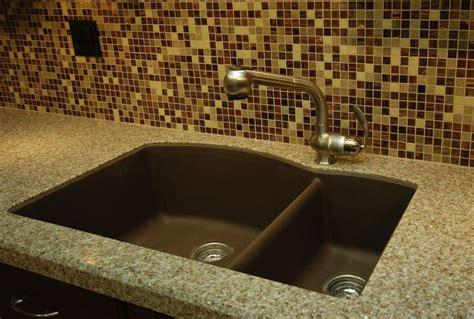 undermount granite composite kitchen sink 27 best images about kitchen reno on arabesque 8724