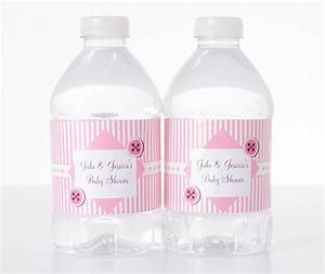 baby shower water bottle label sayings baby shower favors With cute sayings for water bottle labels