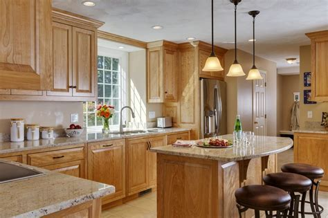 Groton   Red Birch Kitchen   Platt Builders