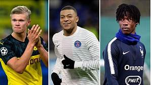 mbappé haaland the team real madrid plan to boast by