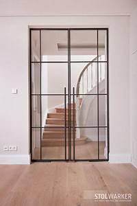 Wohnzimmertür Mit Glas : stahl glas t ren stahl loft t ren innenglast ren glast r wohnzimmer t r mit glas ~ Watch28wear.com Haus und Dekorationen