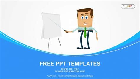 Cute Men Templates by Businessman Presentation Powerpoint Templates